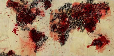 Slayer World Painted Blood immagine complessiva delle copertine