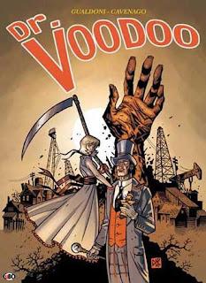 Dr. Voodoo fumetto copertina