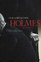 Holmes fumetto copertina