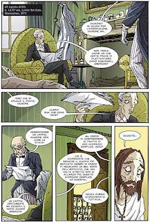 Ford Ravenstock specialista in suicidi fumetto immagine