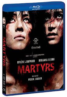 Martyrs Blue Ray DVD italiano copertina