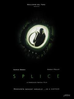 Splice film poster