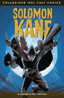 Solomon Kane Il castello del diavolo fumetto Panini copertina