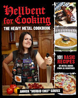 Hellbent for Cooking book cover copertina