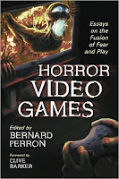 Horror Video Games essay cover saggio copertina