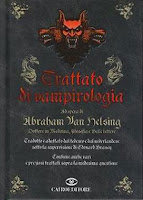 Trattato di vampirologia Van Helsing Cairo copertina