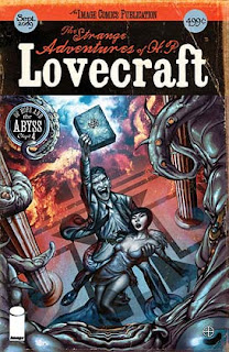 The Strange Adventures of H.P. Lovecraft 04 comics cover
