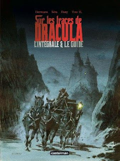 Dracula Hermann Casterman fumetto copertina