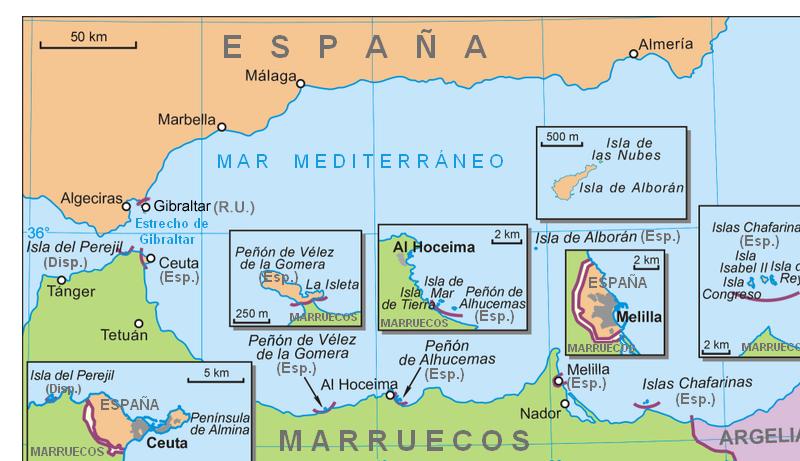 Islas españolas en el Norte de Africa Mapa_del_sur_de_Espa%25C3%25B1a_neutral