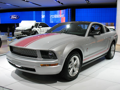2009 Ford Mustang Warriors In Pink. [Source: Ford]