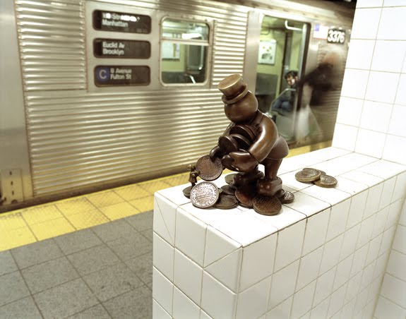 Beat the Heat With Some Subway Art
