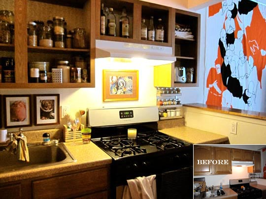 Ugly Apartment Kitchen Cabinets on ugly apartment design, ugly apartment doors, ugly apartment wallpaper,