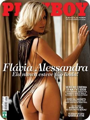 FOLDER Flávia Alessandra Fotos Playboy Dezembro 2009