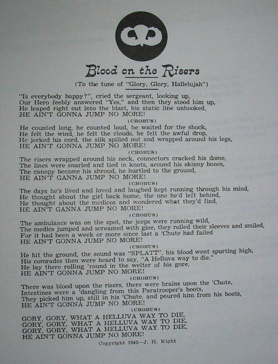 82nd Airborne Division All-American Chorus lyrics | Musixmatch