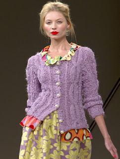 Вязаные Кофты Мода 2014