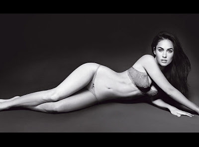 Megan Fox Strips For Armani