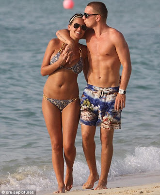 Danielle Lloyd romantic holiday