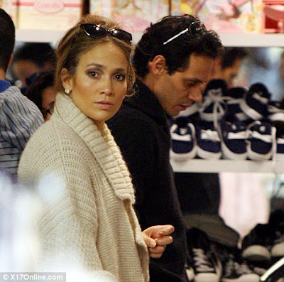 jennifer lopez and marc anthony shopping