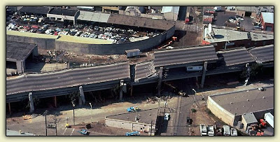 Nimitz Freeway, 1989