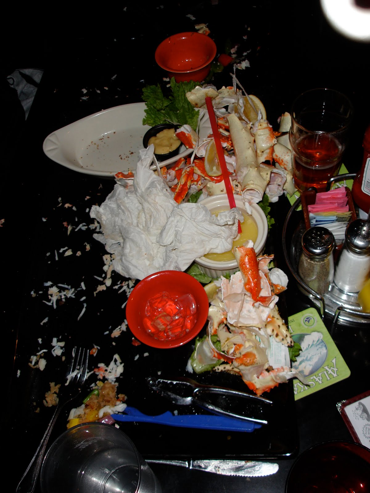The completed platter from the Kodiak Arrest Challenge at Humpys