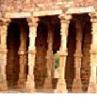 Hindu Temple Ruins Qutab Minar