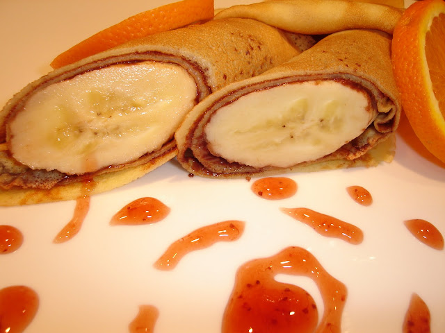 Articole culinare : Clatite cu banane