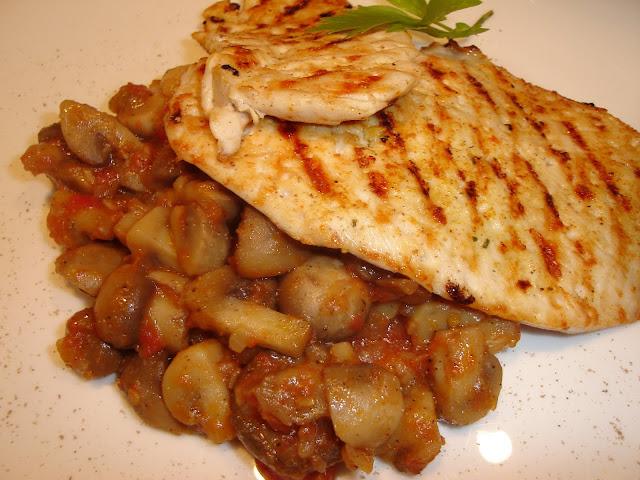 Articole culinare : Gratar de pui cu ciperci