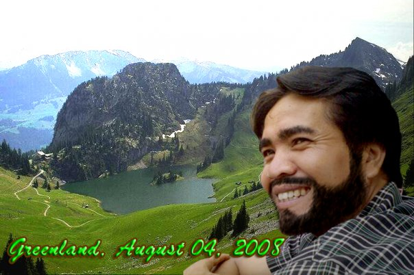 Hr Kamal in Holiday to Greenland