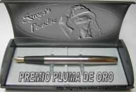 PREMIO PLUMA DE ORO...