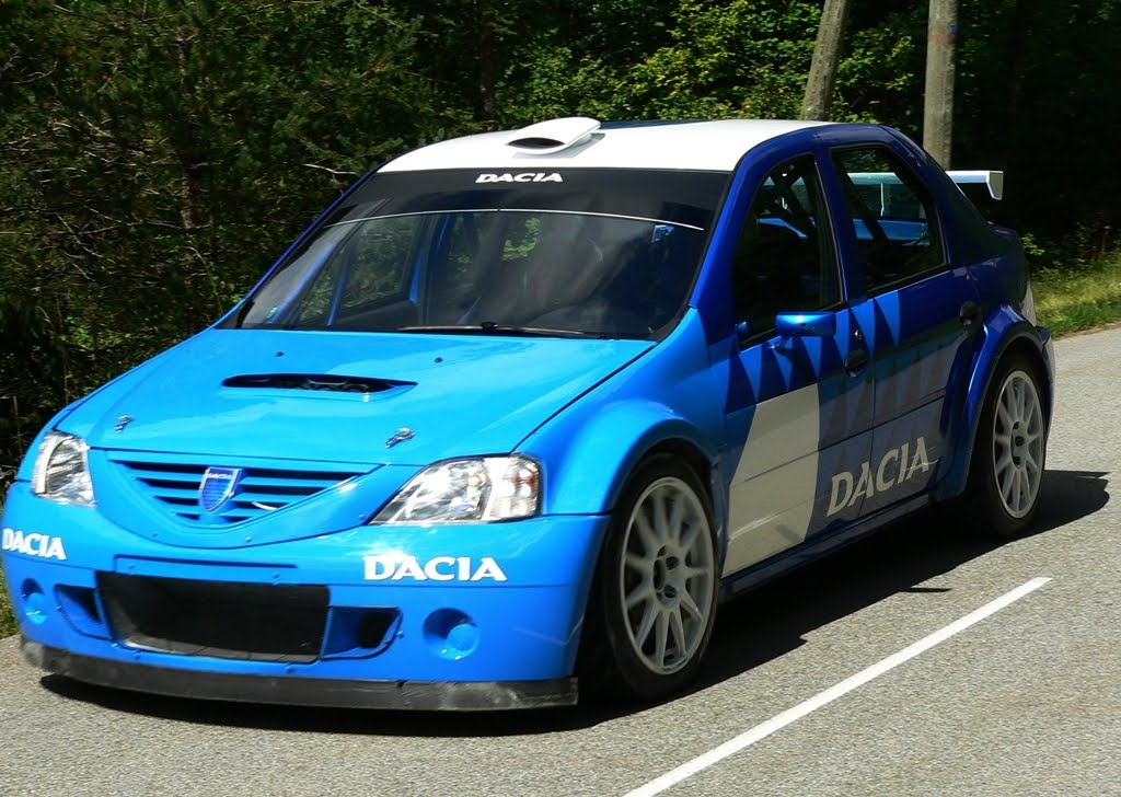 renault logan rally