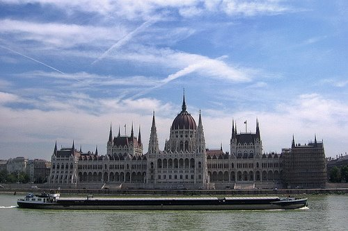 Amazing Architecture of Hungarian Parliament Building