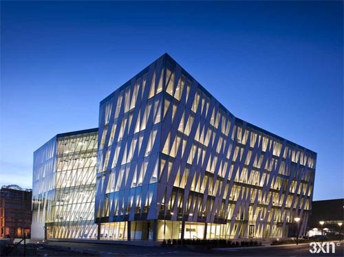 Saxo Bank in Copenhagen by 3XN Architects
