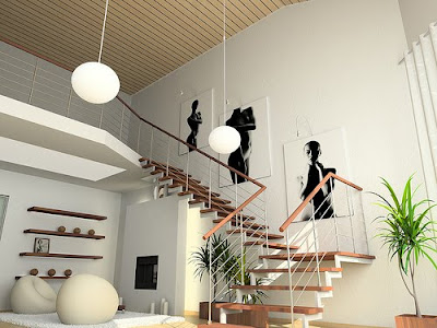 Stairs for exclusive House Design