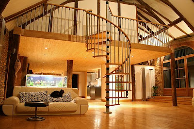 Stair Model for Home Interior design