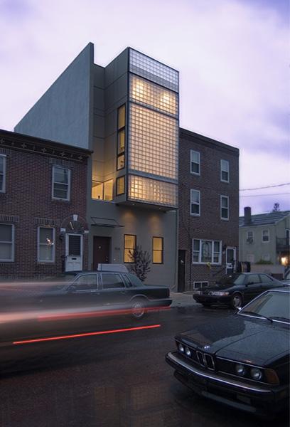 Minimalist Block home Design