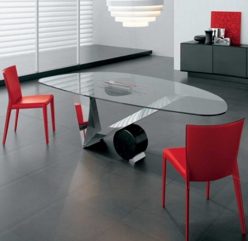Glass Dining Table Interior