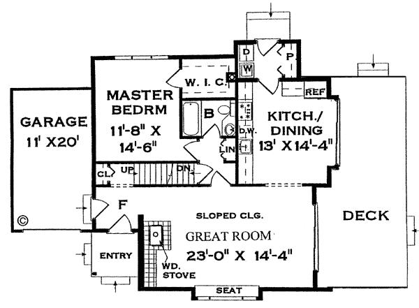 Contemporary Home Plans 2014: Contemporary Home Floor Plan