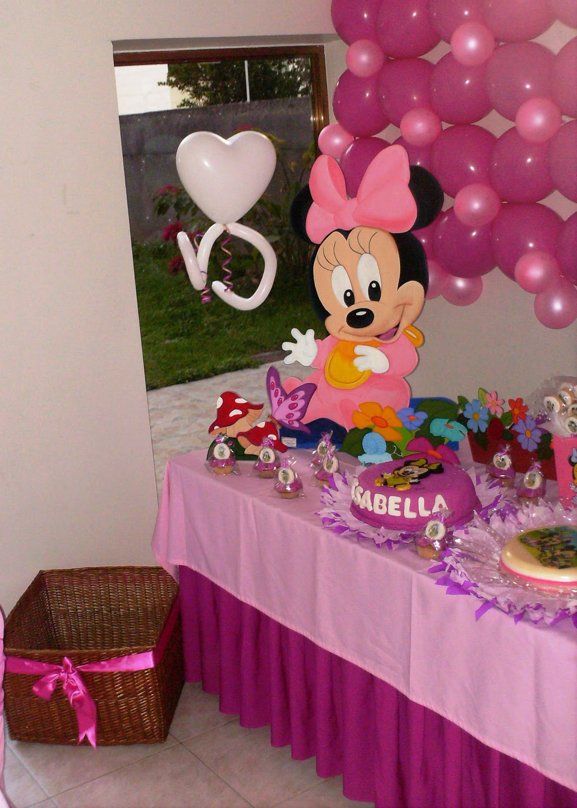Decoraciones Para Baby Shower De Minnie Mouse