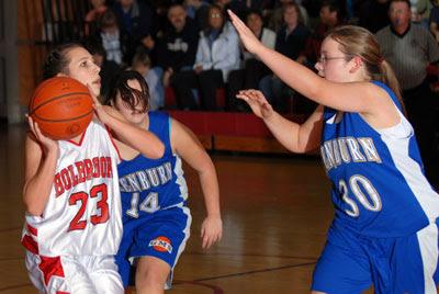First quarter surge leads Holbrook girls past Glenburn