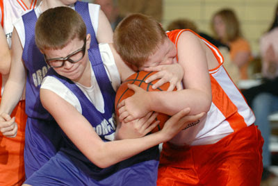 Teams battle for playoff positions in Maine Basketball Festival 3/4 Grade Tourney