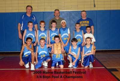 Hermon grabs 3/4 boys A Pool Championship, Holbrook claims B Pool tourney win