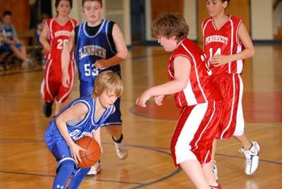 Glenburn, Winterport, Bangor Y, Hampden open Glenburn Rec 5/6 boy's tournament with victories
