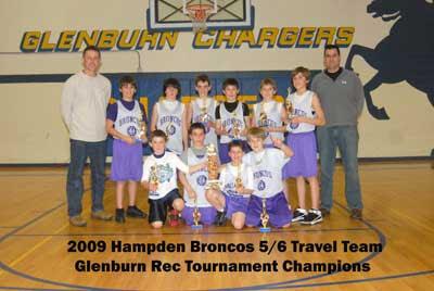 Hampden defeats Bangor for Glenburn Rec 5/6 boys tourney championship