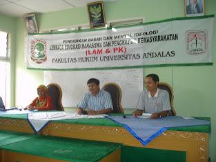 LAM & PK Fakultas Hukum Universitas Andalas
