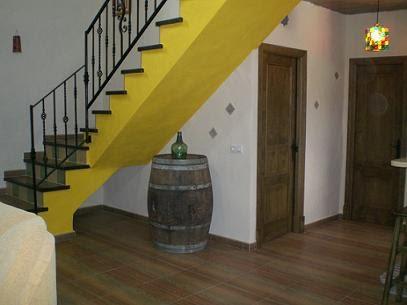 Las escaleras de la casa grande