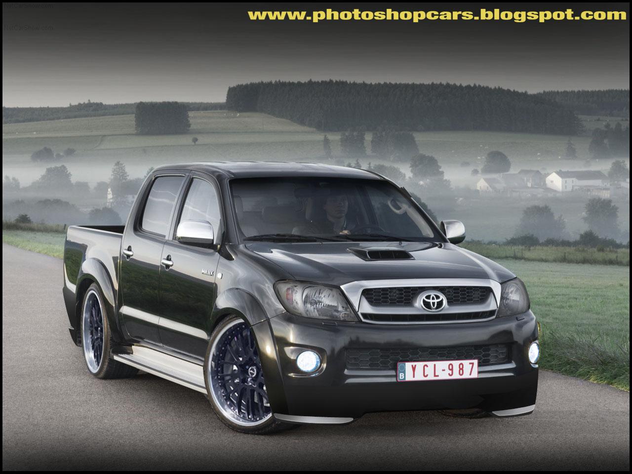 صور سيارة toyota hilux  Toyota-Hilux_2009_rebaixado+tuning