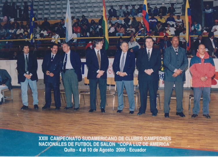 XIII CAMPEONATO SUDAMERICANO y PRIMER PANAMERICANO DE CLUBES CAMPEONES NACIONALES