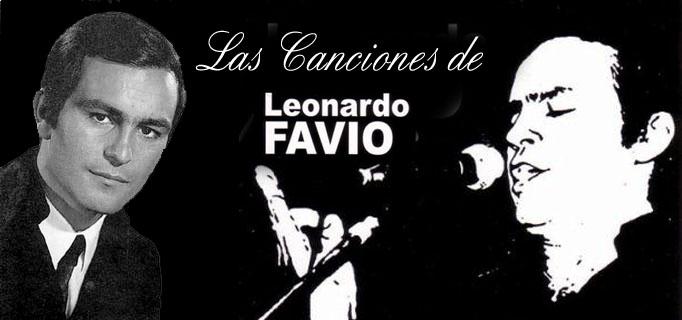 LAS CANCIONES DE LEONARDO FAVIO