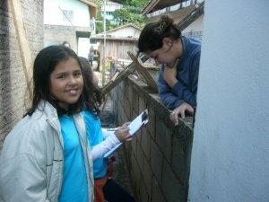 Entrevista a uma pessoa da comunidade sobre o Rio Sangradouro