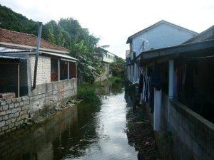 O Rio Sangradouro - Armação